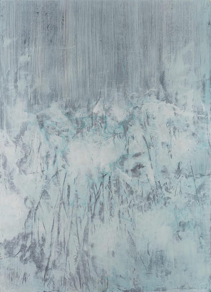 【存在系列-07】纸本油彩 76x106cm 2015王恺底价10000