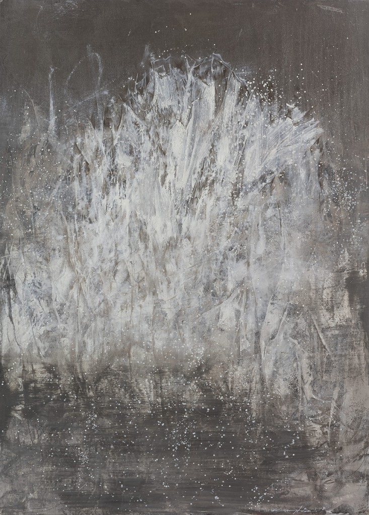 【存在系列-08】纸本油彩 76x106cm 2015王恺底价10000