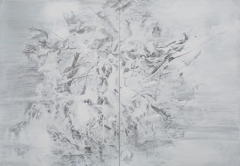 10【存在计划-03】纸本油彩 107x152cm 2015王恺