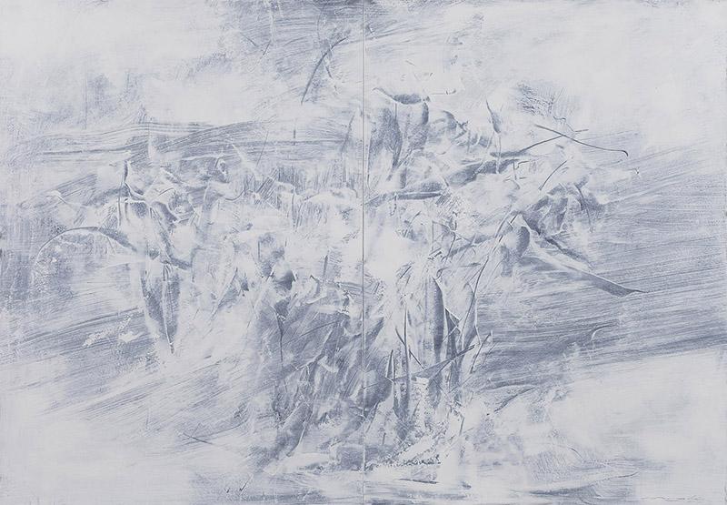 11【存在计划-04】纸本油彩 107x152cm 2015王恺