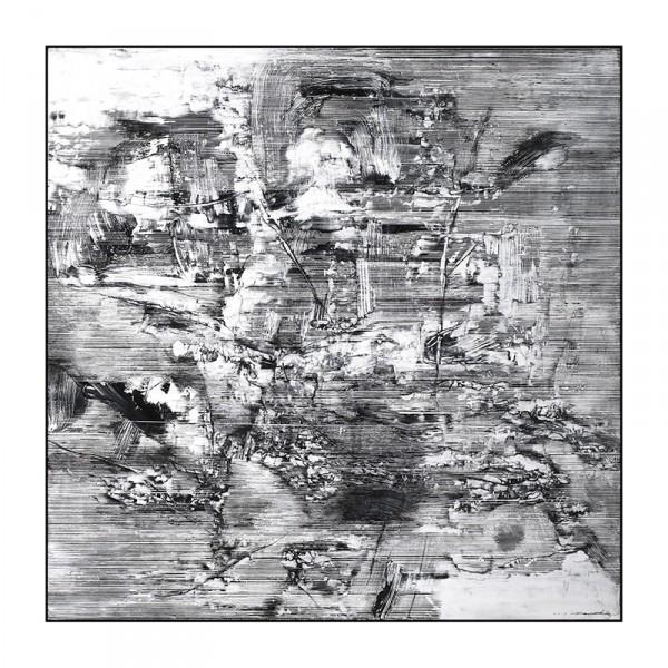雪原诗书64-120x120cm2019