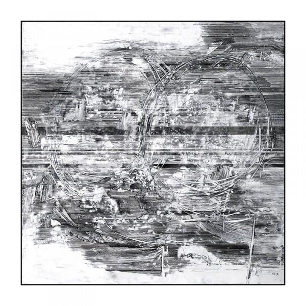 雪原诗书65-120x120cm2019