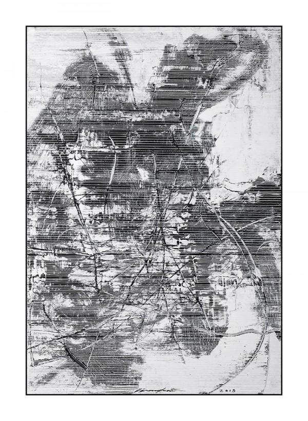 雪原诗书77-56x80cm2019