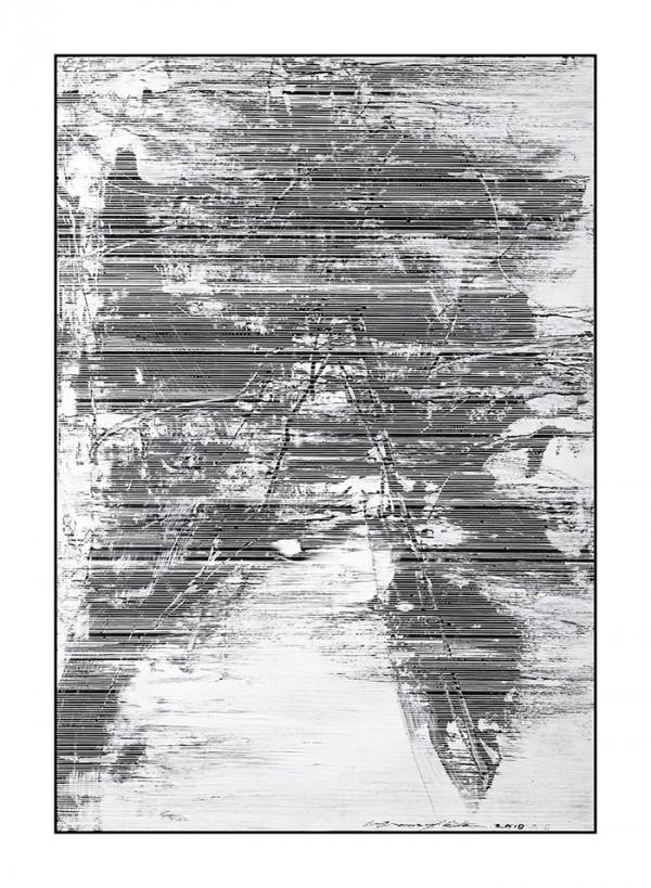 雪原诗书78-56x80cm2019