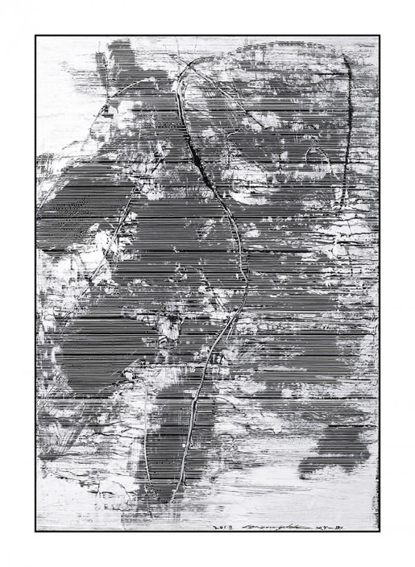 雪原诗书81-56x80cm2019